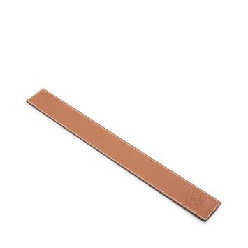 LOEWE Small Slap Bracelet Tan front
