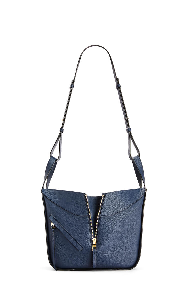 LOEWE Small Hammock bag in pebble grain calfskin Ocean pdp_rd