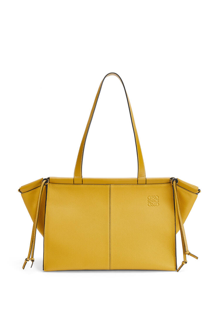 LOEWE Small Cushion Tote bag in soft grained calfskin Ochre pdp_rd