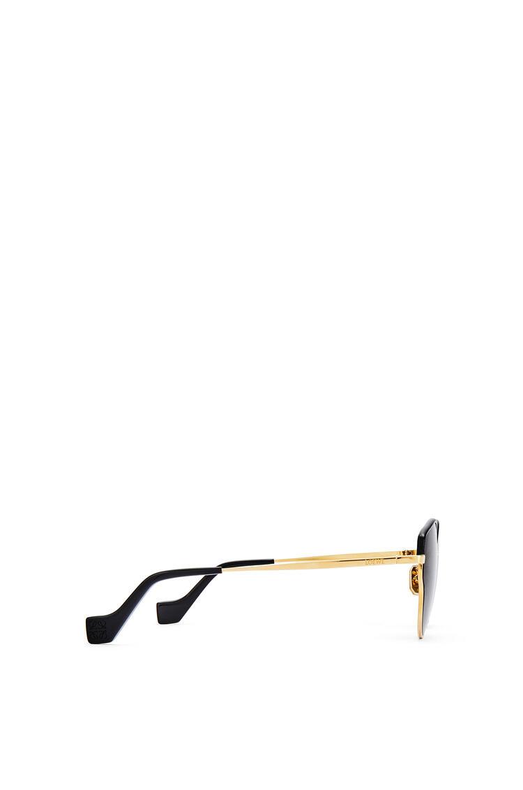 LOEWE Metal butterfly sunglasses Gradient Smoke Grey pdp_rd