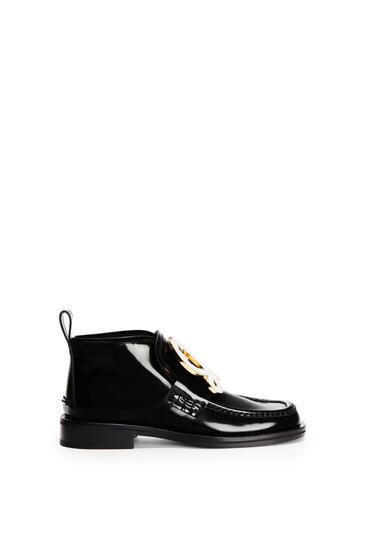 LOEWE LOEWE high top loafer in calfskin Black pdp_rd