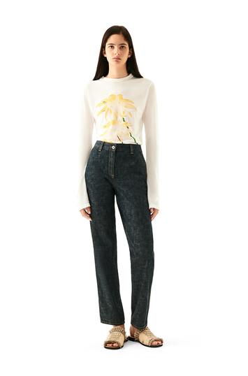 LOEWE 5 Pocket Jeans Indigo front