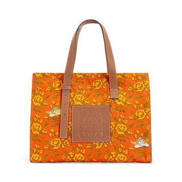 LOEWE Paula's Tote Prints Naranja front
