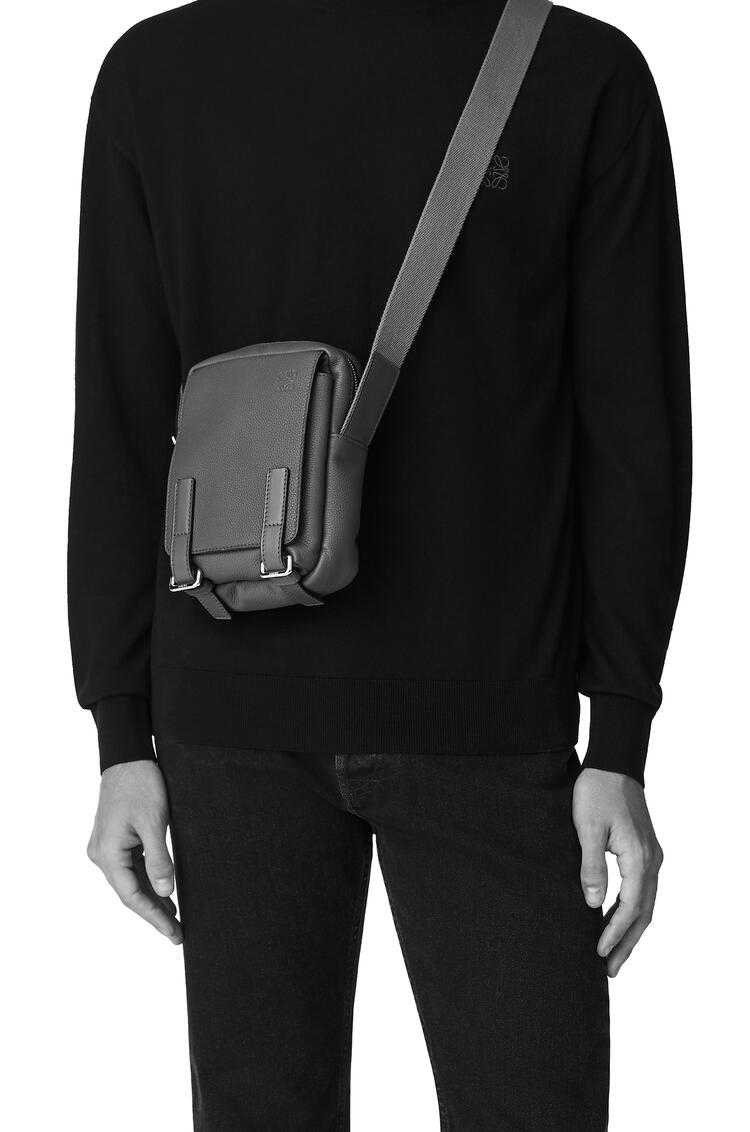 LOEWE XS Military Crossbody in soft grained calfskin Anthracite pdp_rd