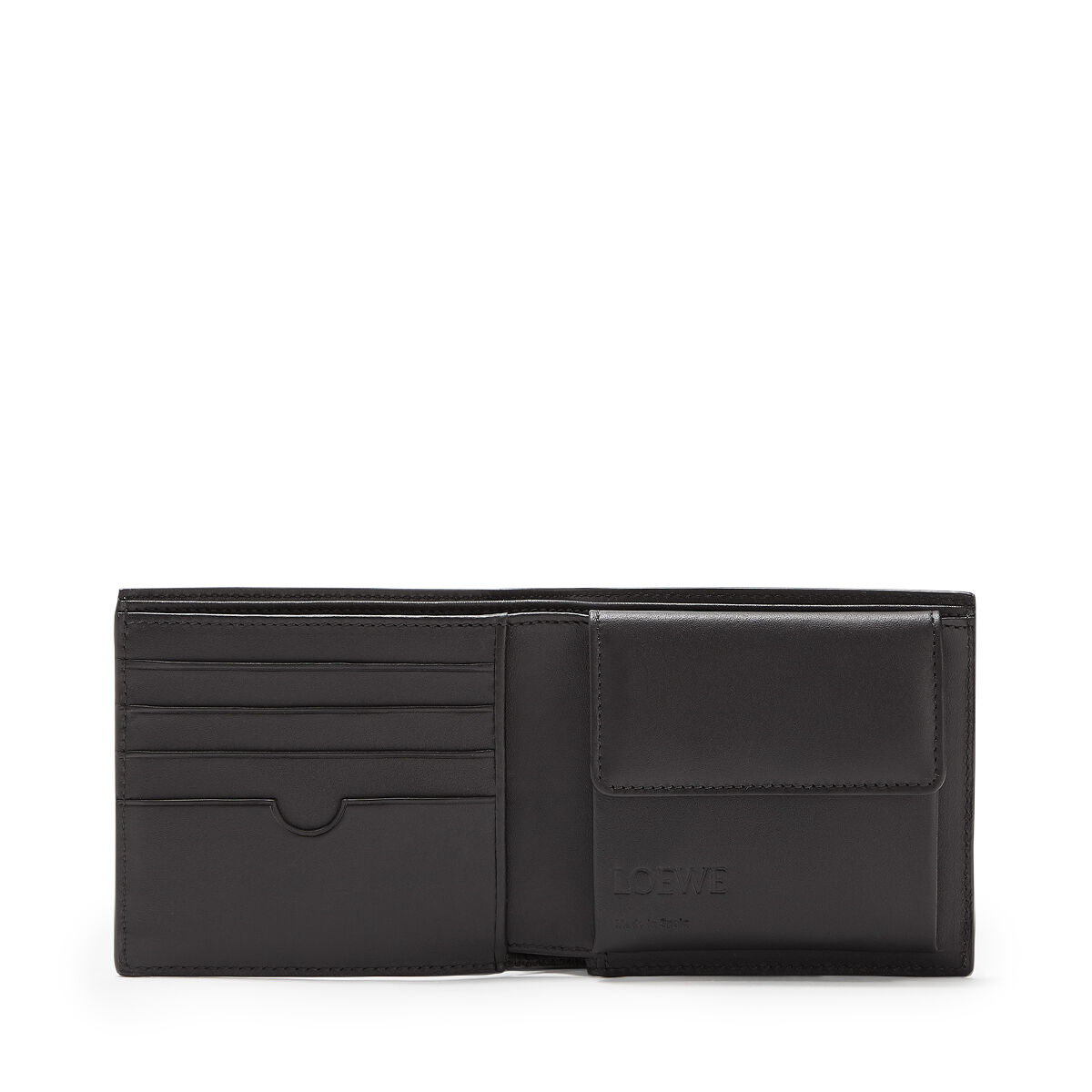 LOEWE Bifold/Coin Wallet Mocca/Black all