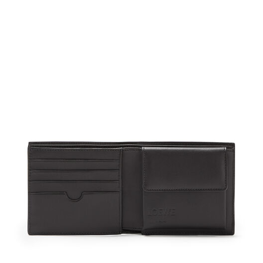LOEWE Bifold/Coin Wallet Mocca/Black front