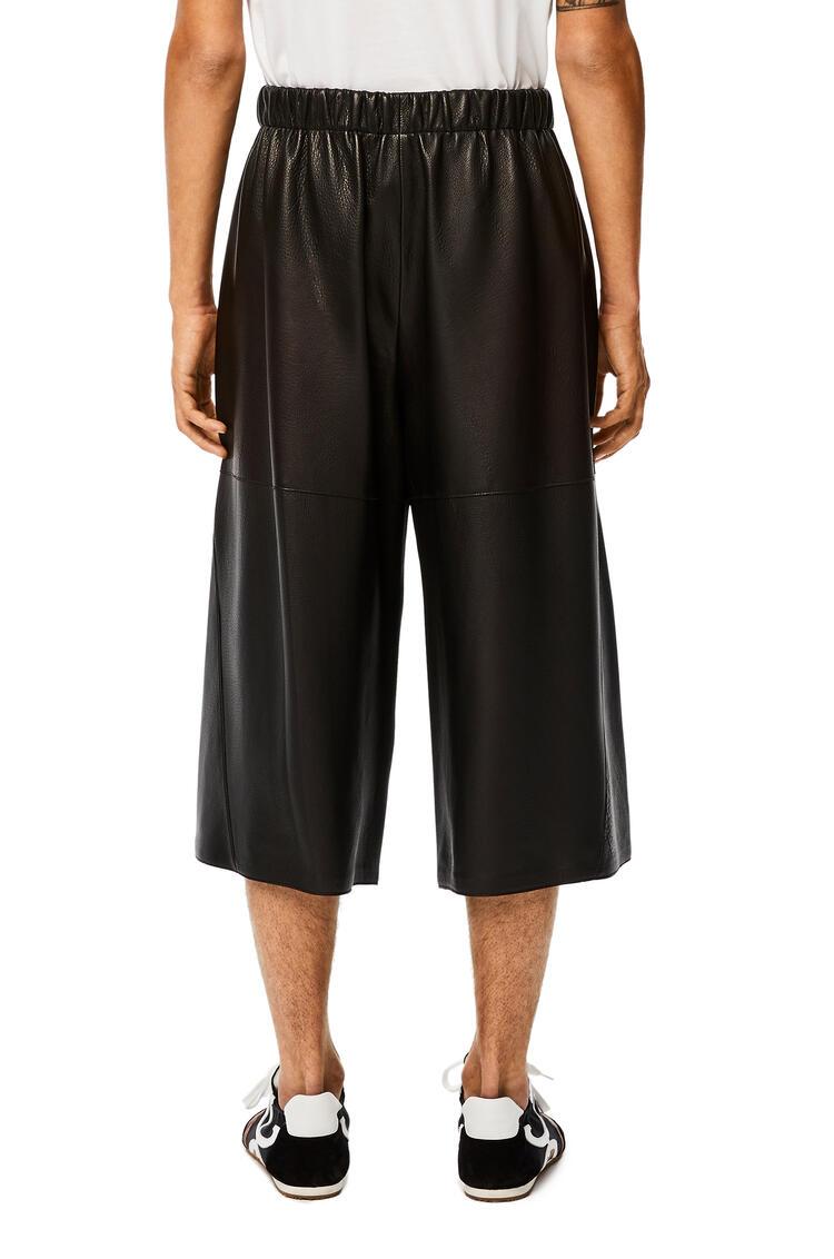 LOEWE Shorts en napa Negro pdp_rd