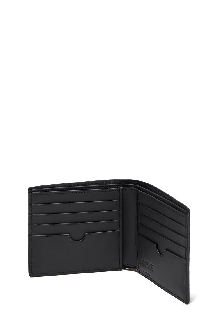 LOEWE Puzzle bifold wallet in calfskin Black pdp_rd