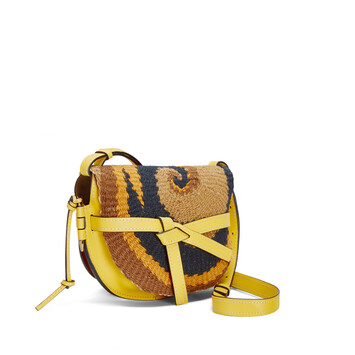 LOEWE Paula's Gate Wave Small Bag Yellow front