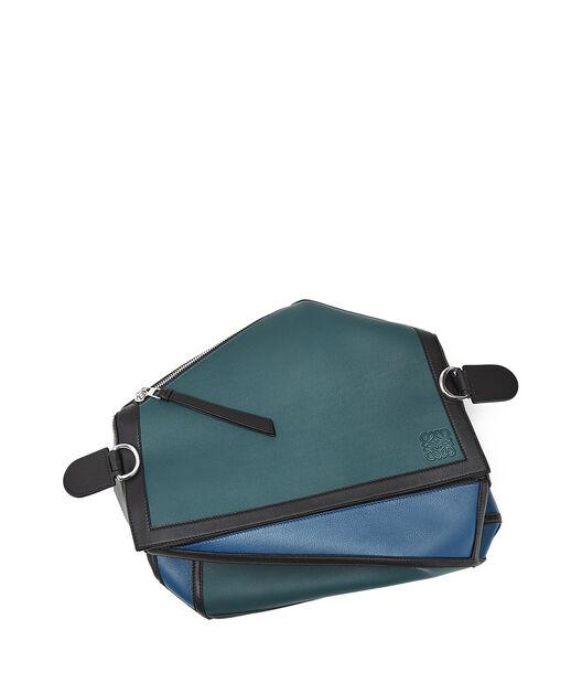 LOEWE Puzzle Graphic Xl Bag Indigo/Petroleum Blue all