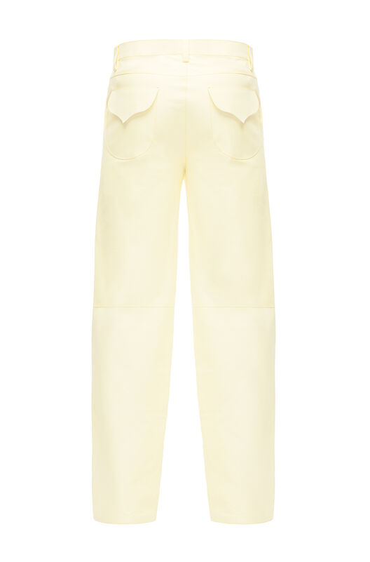 LOEWE Flap Pocket Trousers Amarillo front