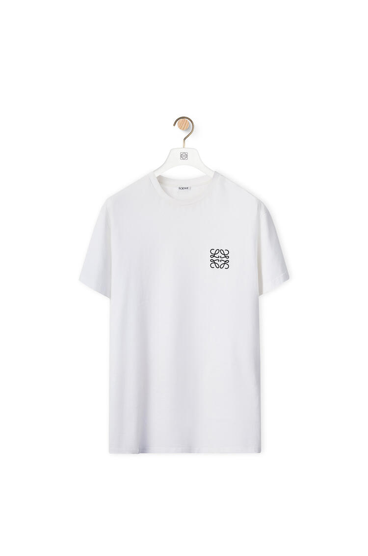 LOEWE Anagram t-shirt in cotton White pdp_rd
