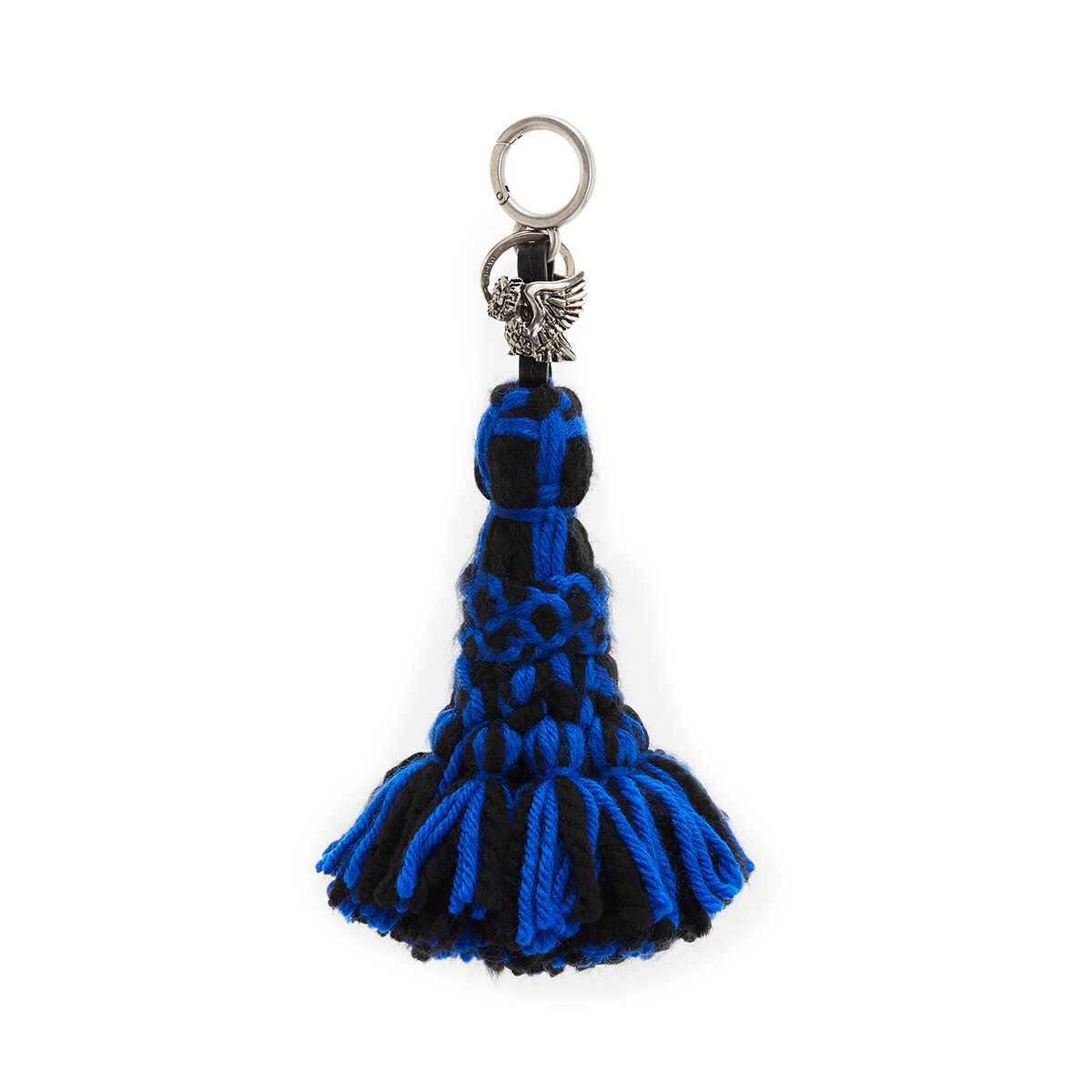 LOEWE Animal Xl Tassel Charm Navy Blue/Black front