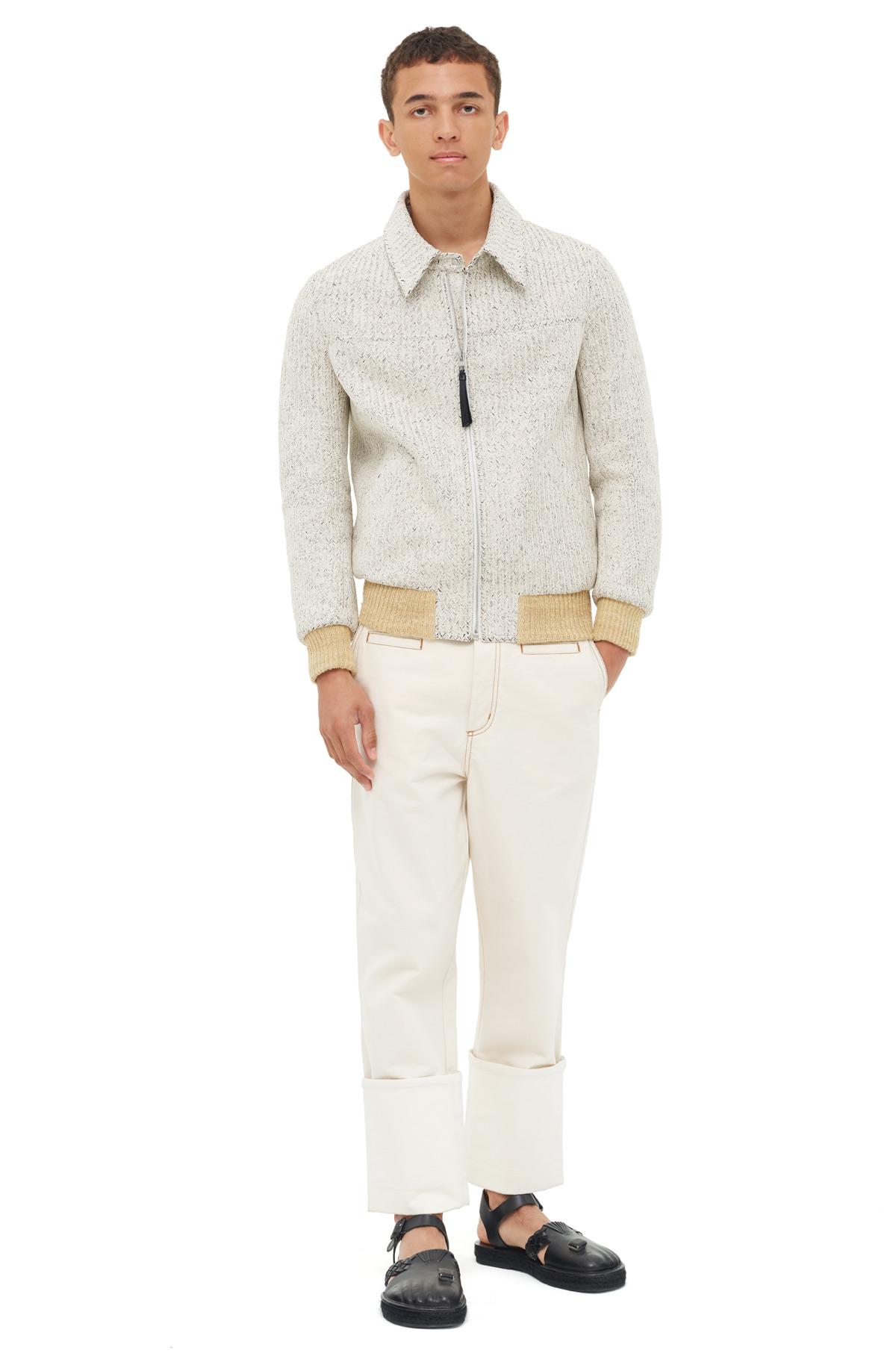 LOEWE Fisherman Jeans ホワイト front