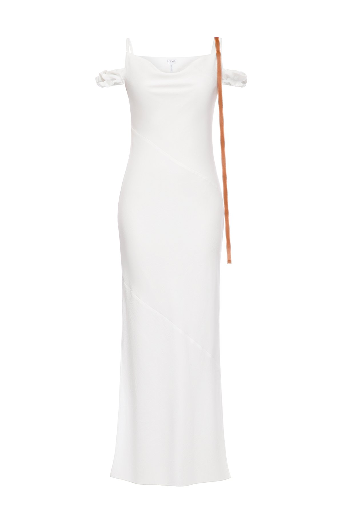 LOEWE Strappy Dress Leather Strap White front