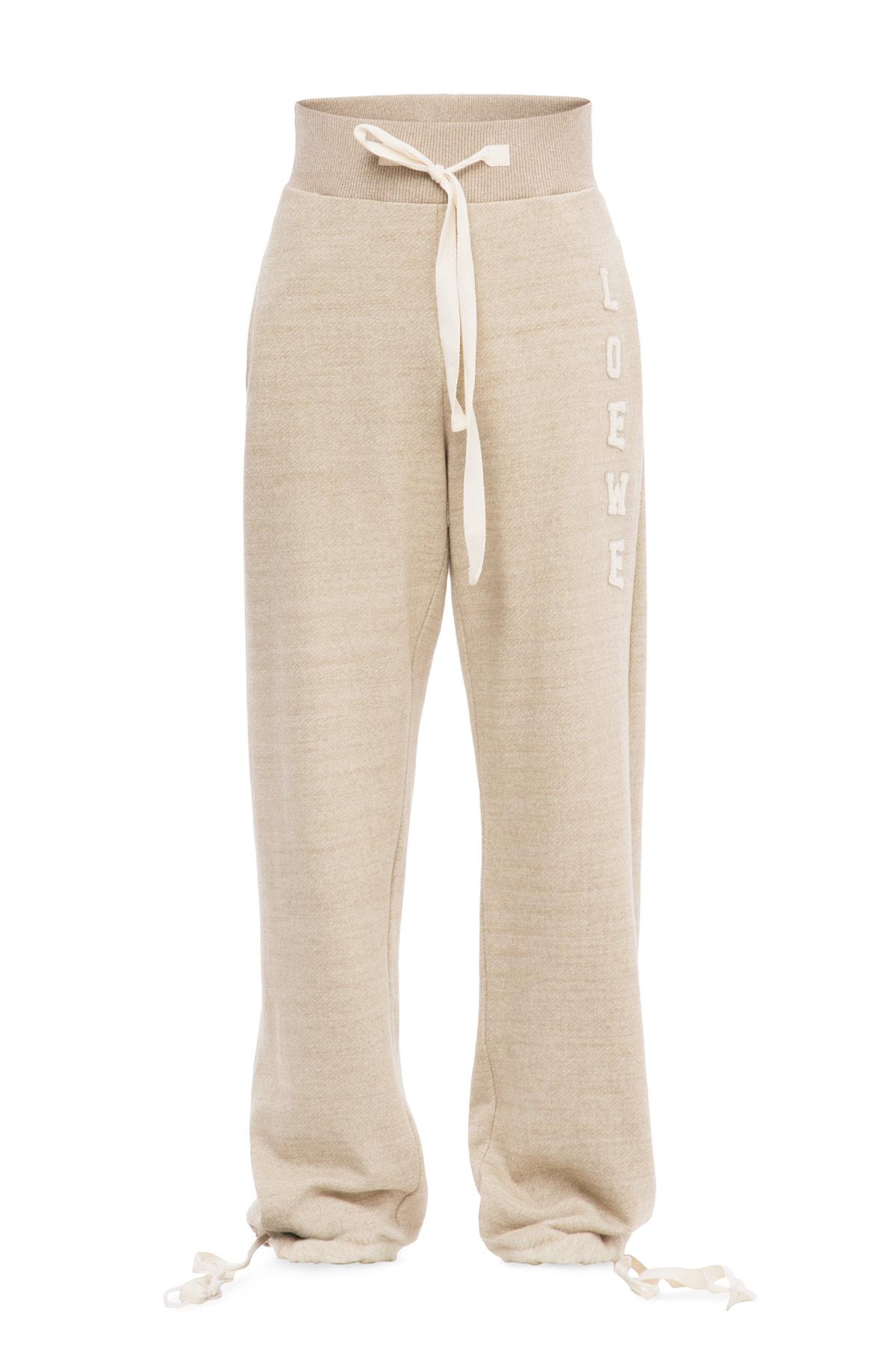 LOEWE Sweat Trousers Beige front