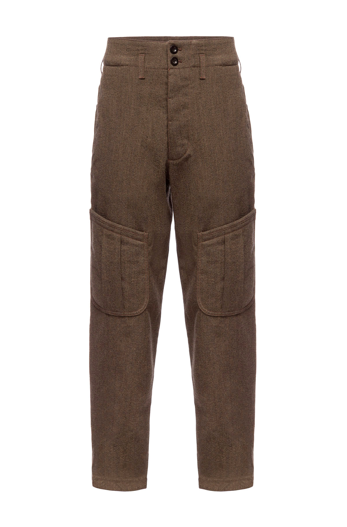 LOEWE Rabbit Trousers Brown front