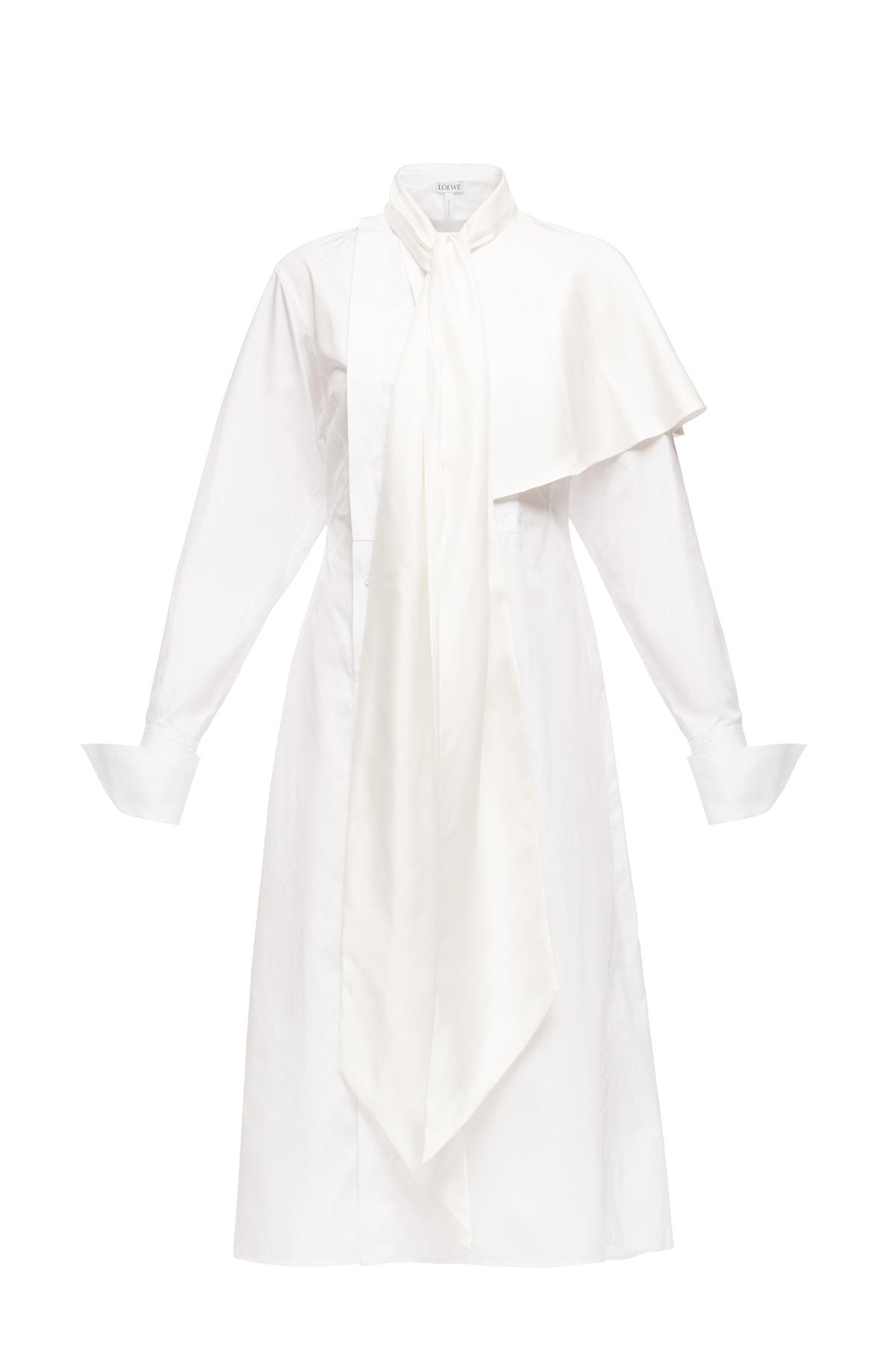 LOEWE Shirtdress ホワイト front