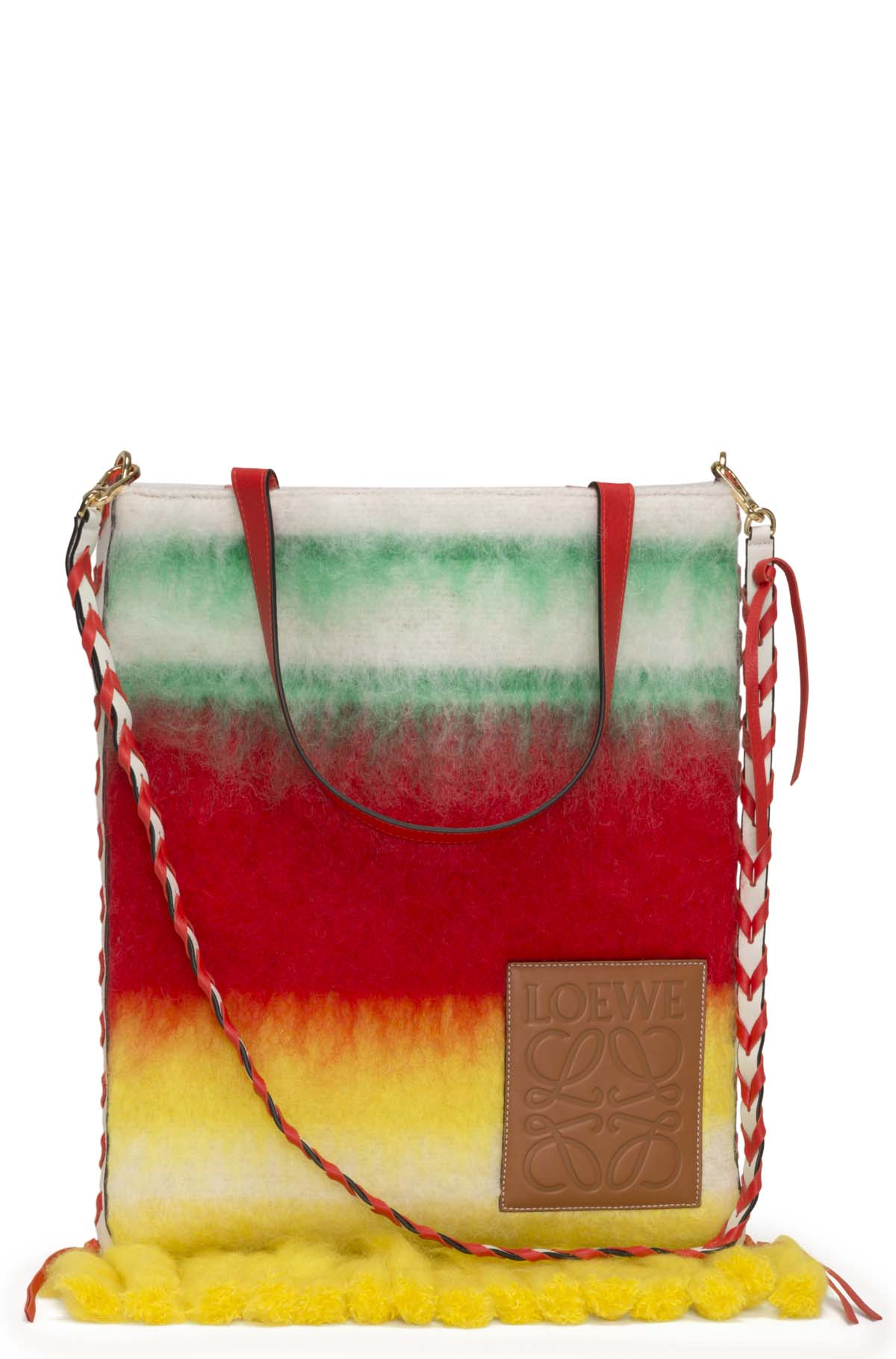 LOEWE Vertical Tote Degrade Bag Multicolor front