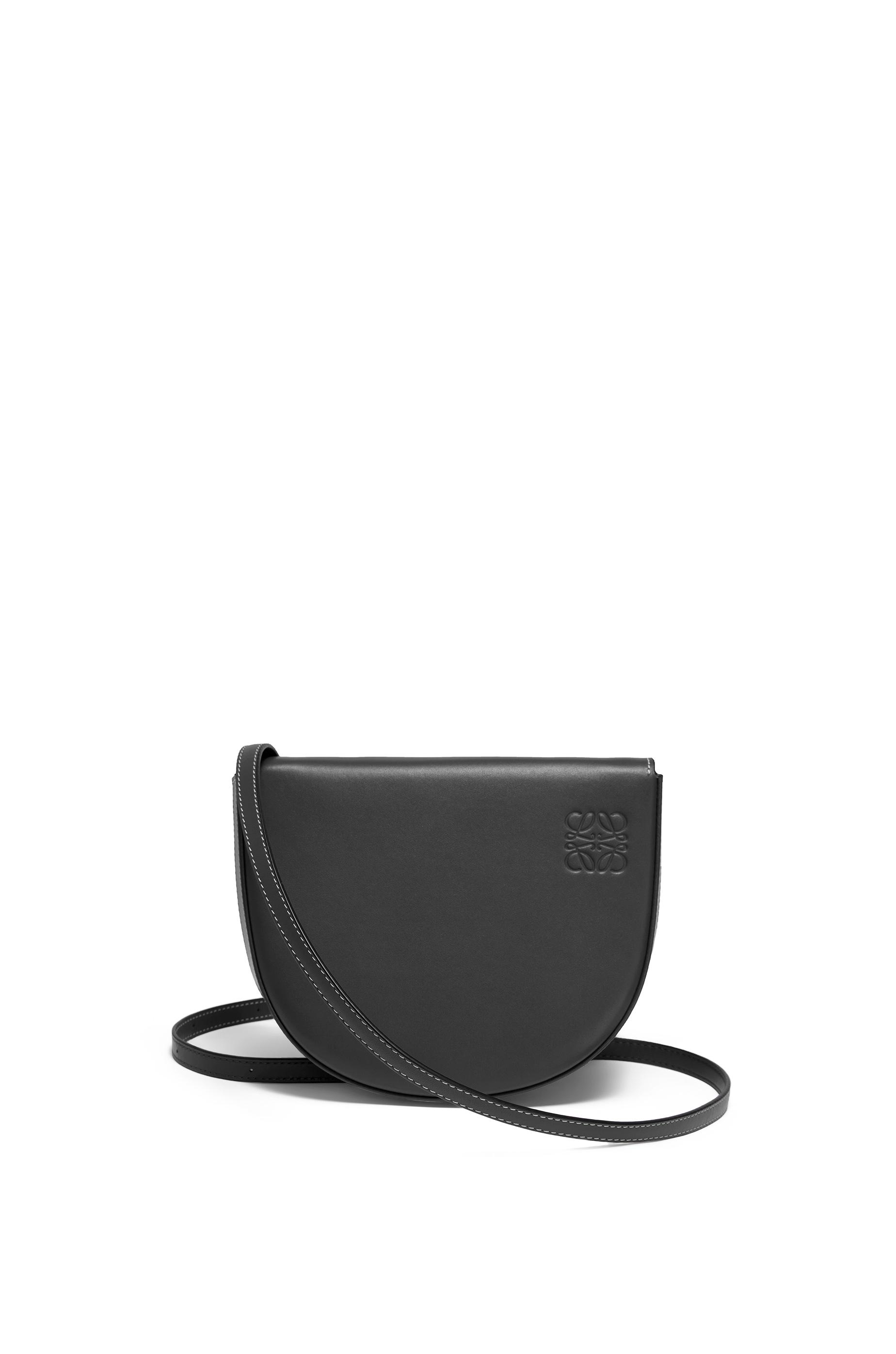 Heel bag in soft calfskin Black - LOEWE