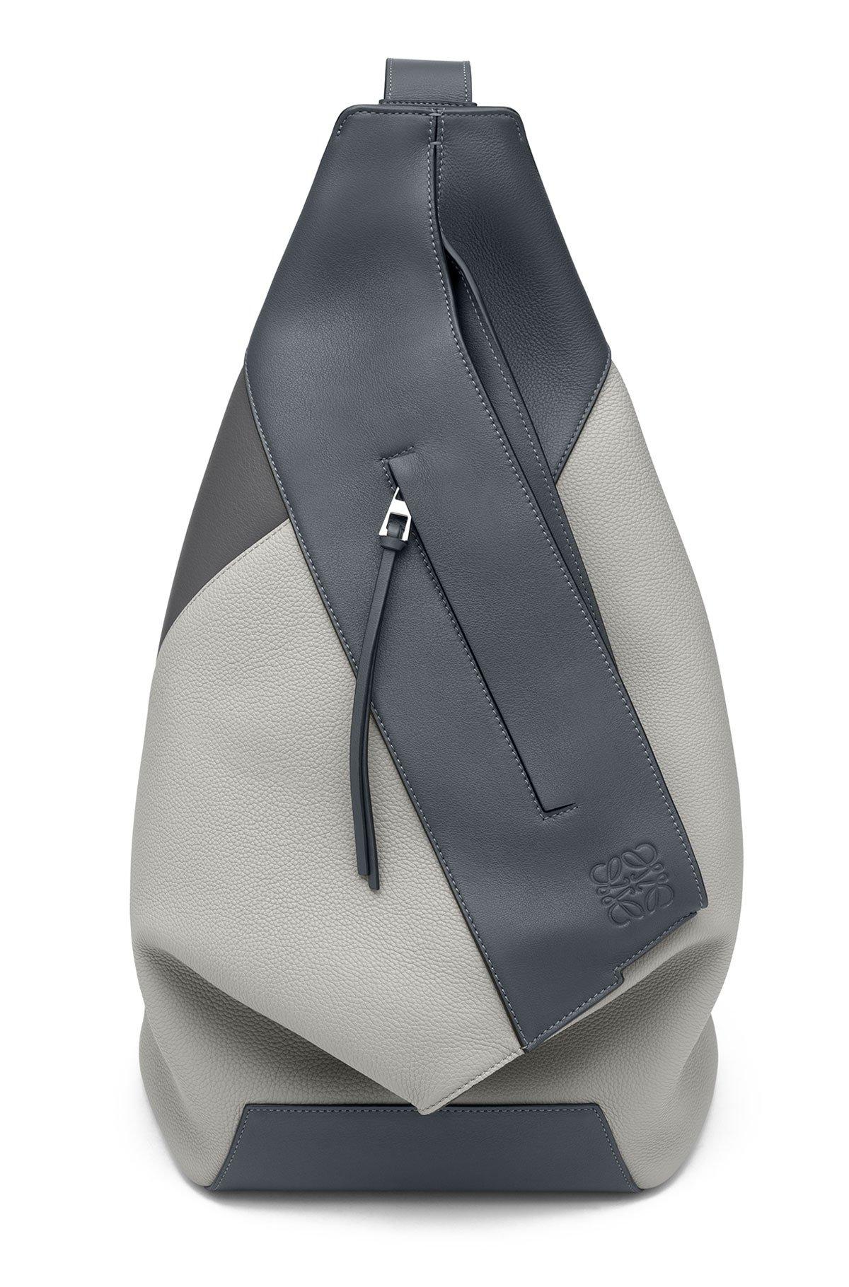 LOEWE Anton Backpack Grey Multitone front