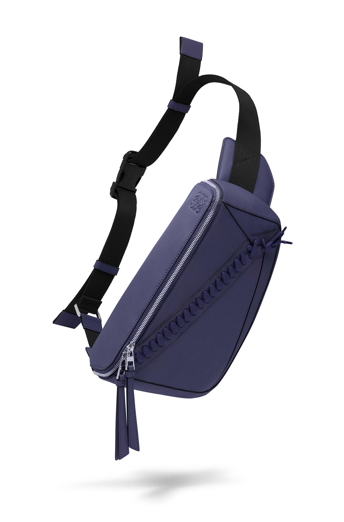 LOEWE Puzzle Sling Bag Marine front