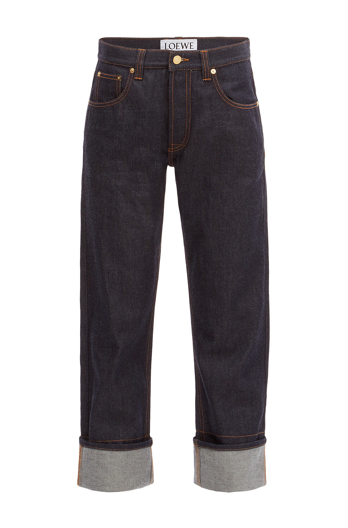 LOEWE 5 Pocket Jeans Dark Denim Blue front