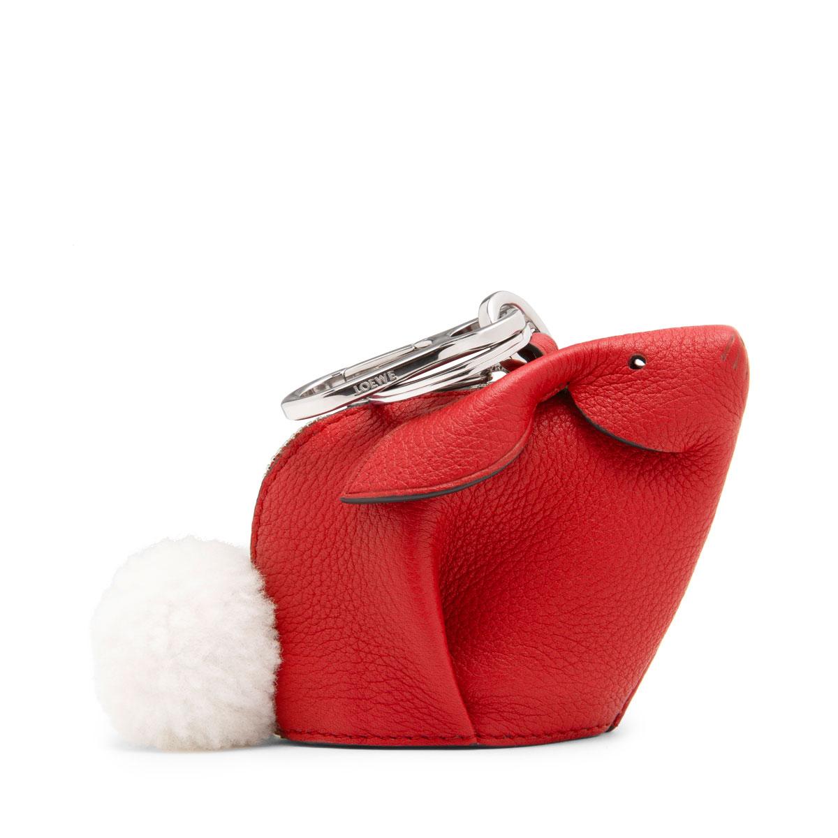 Bunny Charm Scarlet Red LOEWE