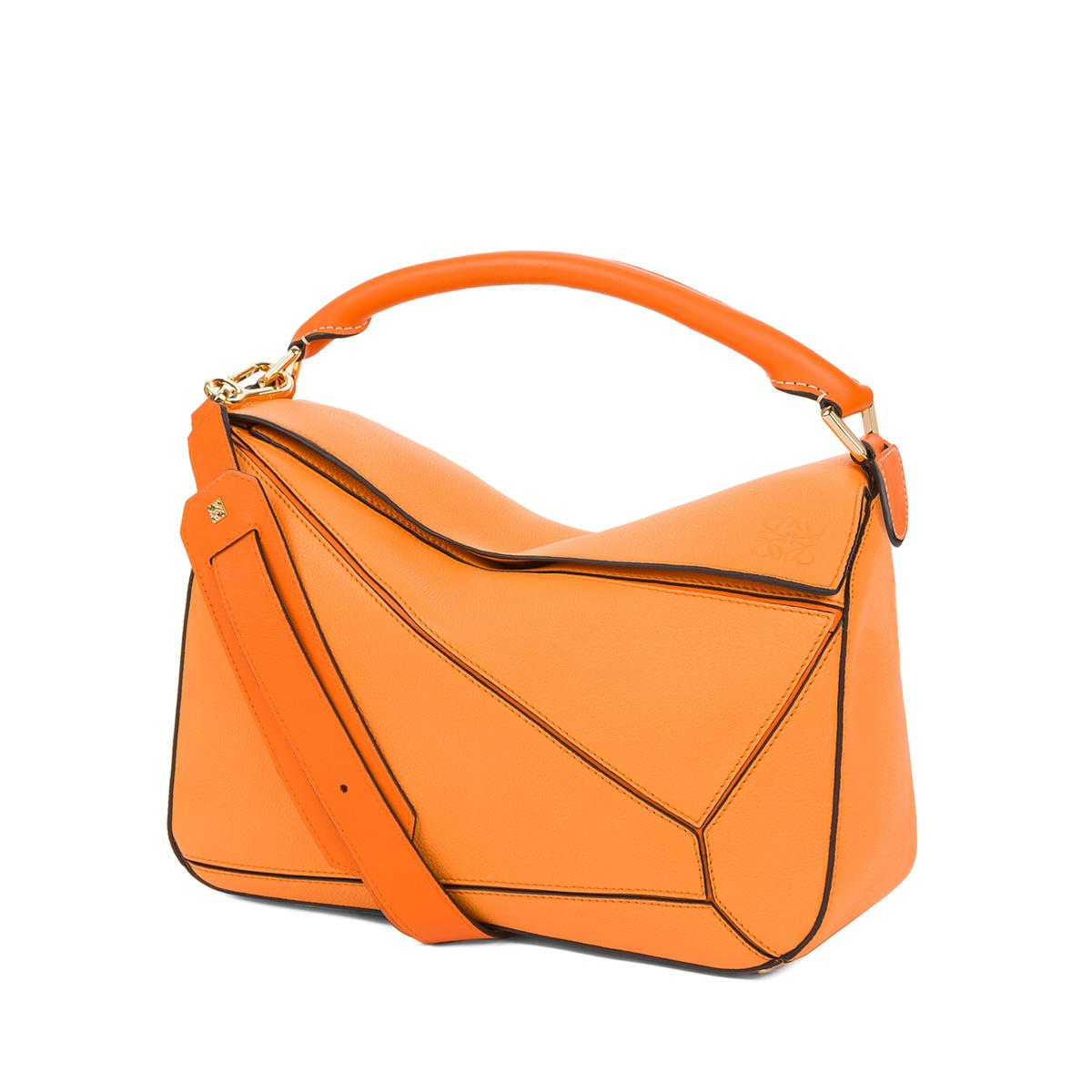 Puzzle Bag Apricot/Orange - LOEWE